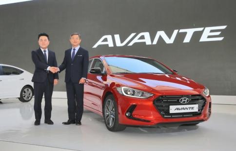 Hyundai Elantra 2016  ra mắt tại Hàn Quốc