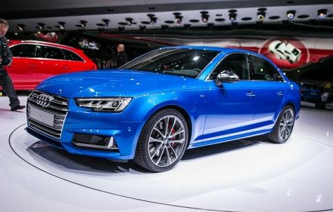 Audi S4 2017 mạnh hơn với động cơ tăng áp
