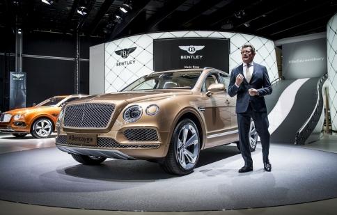 Ngắm SUV nhanh nhất và sang nhất Bentley Bentayga