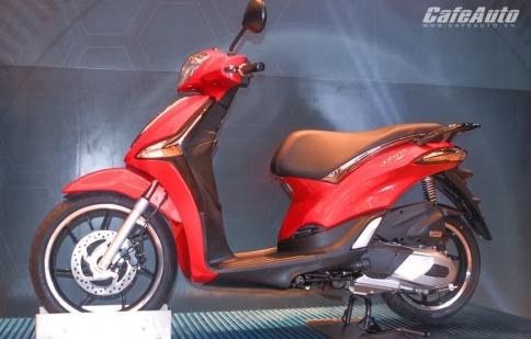 Piaggio Liberty ABS ra mắt khách hàng Việt Nam