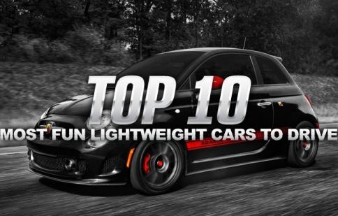 Top 10 xe siêu nhẹ không thể không lái thử