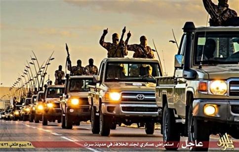 Toyota gặp rắc rối với tổ chức khủng bố IS