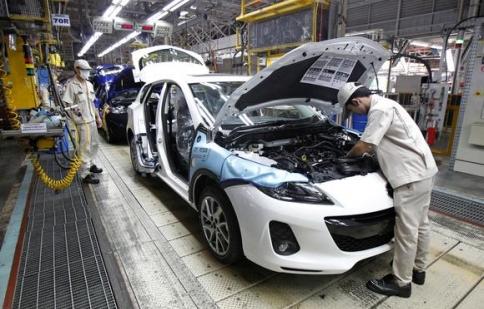 Thái Lan cắt giảm sản xuất xe hơi