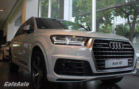 Ảnh chi tiết Audi Q7 2016 tại Việt Nam