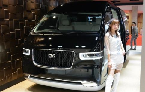 Chiêm ngưỡng phiên bản Minibus 6 chỗ mới nhất của Toyota