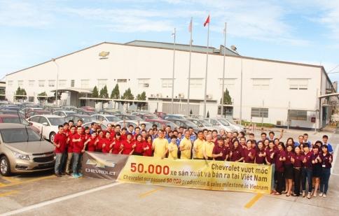 Hơn 50.000 xe Chevrolet sản xuất và bán tại Việt Nam
