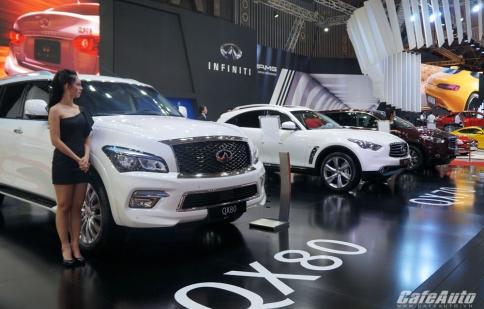 Infiniti mang bộ ba xe hạng sang tới Triển lãm Ô tô Việt Nam