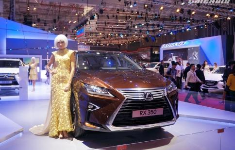 """Hàng """"hot"""" Lexus RX 350 2016 ra mắt tại Việt Nam"""