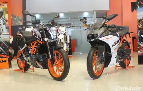 Cặp đôi KTM RC250 và KTM 250 Duke ra mắt tại Việt Nam