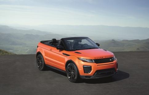 """SUV Range Rover Evoque """"lột xác"""" với phiên bản mui trần"""