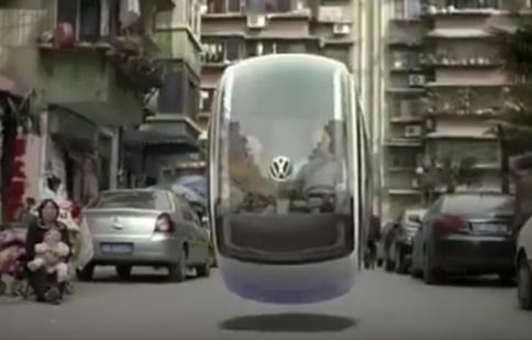 Xe bay Volkswagen: Giải pháp chống kẹt xe tại việt Nam?