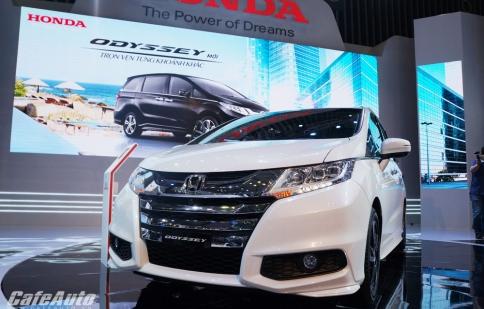 Honda Odyssey chính thức giới thiệu đến khách hàng toàn quốc