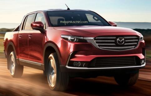 Mazda BT-50 mới sẽ dùng chung nền tảng với Toyota Hilux