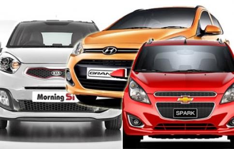 Những mẫu xe cỡ nhỏ trong đô thị tầm giá 300 – 400 triệu đồng
