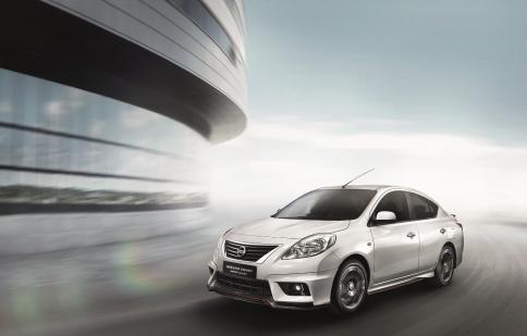 Nissan khoác thêm bộ cánh Nismo Aerokit mới cho Sunny tại Việt Nam