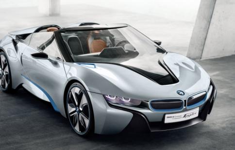 BMW đưa i8 Spyder vào sản xuất