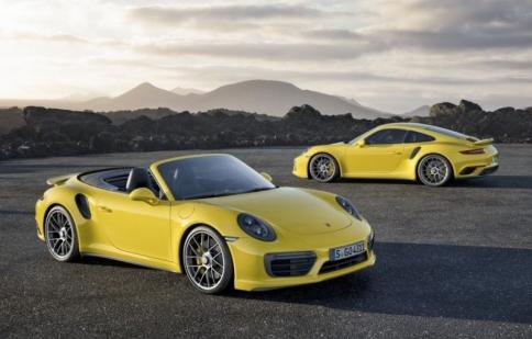 Công bố phiên bản nâng cấp Porsche 911 Turbo và Turbo S 2016