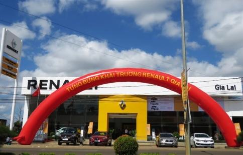 Renault khai trương đại lý 3s mới tại Gia Lai