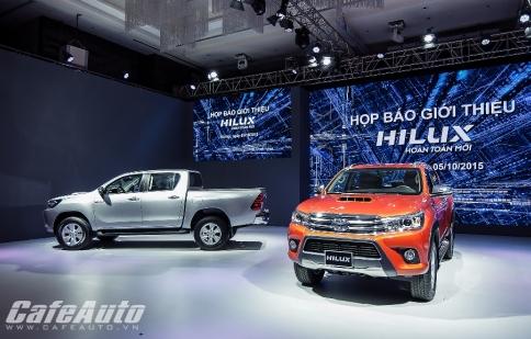 Toyota Việt Nam tăng trưởng 6% trong tháng 11/2015