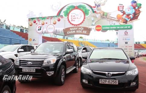 400 xe ô tô tham gia ngày hội chăm sóc xe Car Care Day tại TP.Hồ Chí Minh
