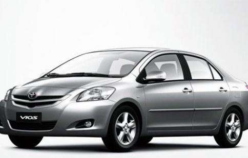 Thu hồi 3.810 xe Toyota Vios sản xuất tại Việt Nam