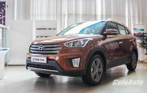 Hình ảnh chi tiết Hyundai Creta 2016 - Có gì hấp dẫn?