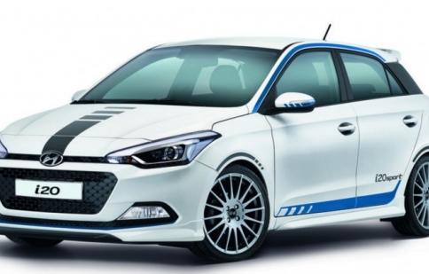 Hyundai i20 có thêm phiên bản Sport