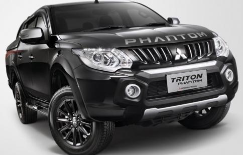 Mitsubishi Triton Phantom Edition ra mắt tại Malaysia - giá gần 600 triệu đồng