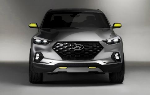 Bán tải Hyundai Santa Cruz sắp có mặt trên thị trường