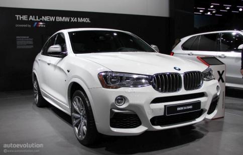 BMW trình làng X4 M40i cạnh tranh với Porsche Macan GTS