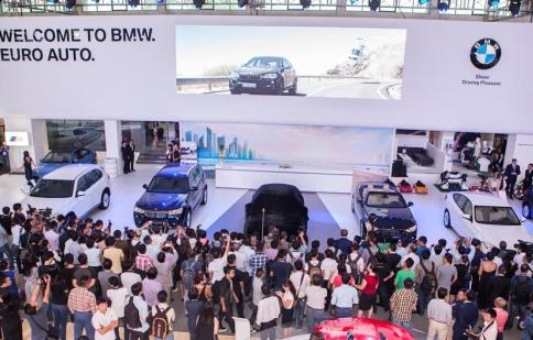 BMW tăng trưởng 40% doanh số tại Việt Nam