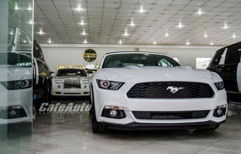 Chi tiết Ford Mustang Convertible 2016 có giá 2,7 tỷ đồng tại Việt Nam