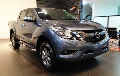 Mazda BT-50 2016 có giá bán từ 669 triệu đồng tại Việt Nam