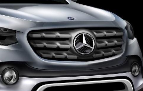 Mercedes-Benz sắp tung ra xe bán tải đầu tiên