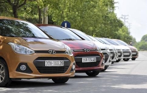 Ôtô nhỏ dự kiến mỗi năm giảm 5% thuế