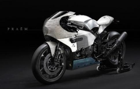 Phiên bản độc PRAËM SP3 của Honda RC51 sắp chính thức ra mắt