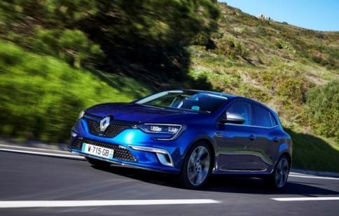 Renault đưa mẫu hatchback mới Megane Estate đến Geneva Motor Show 2016