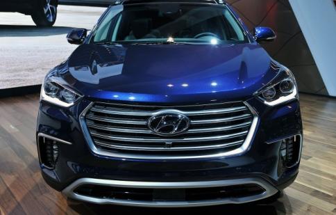 Soi chi tiết diện mạo Hyundai Santa Fe 2017
