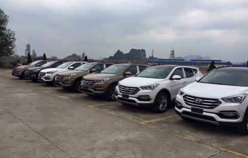 Hyundai Santa Fe 2016 lộ diện tại Việt Nam trước ngày ra mắt