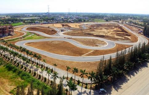 Việt Nam đã có trường đua ô tô, mô tô đạt chuẩn quốc tế