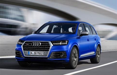Audi SQ7, SUV chạy dầu mạnh nhất thế giới