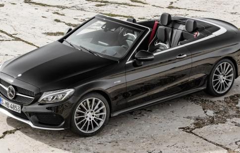 Ra mắt bản mui trần Mercedes-Benz C-Class Convertible 2017