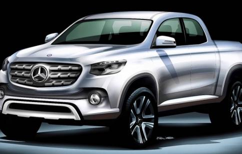 Bán tải đầu tiên của Mercedes-Benz trình làng vào cuối năm 2016?