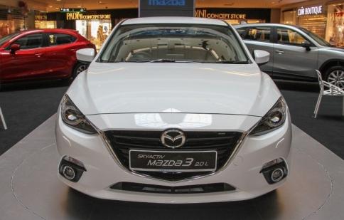 Lộ diện Mazda3 phiên bản nâng cấp