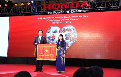 Nhìn lại chặng đường 20 năm Honda tại Việt Nam