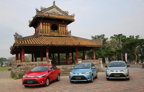 4.693 xe Toyota được bán tại Việt Nam trong tháng 3