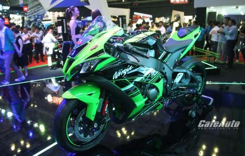 Bộ ba siêu mô tô Kawasaki ra mắt tại Việt Nam