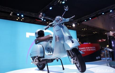 Ngắm Vespa PX phiên bản đặc biệt kỷ niệm 70 năm thành lập