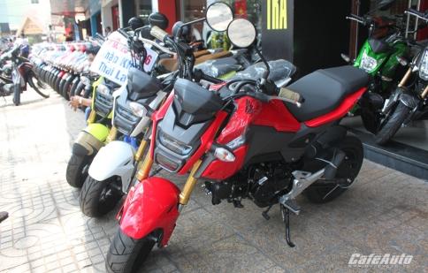 Honda MSX 125 SF 2016: Mini côn tay giá 98 triệu đồng tại Việt Nam