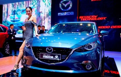 Dừng đăng kiểm xe Mazda 3 nếu không khắc phục lỗi